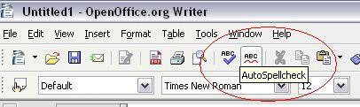 Corector ortografic pentru OpenOffice